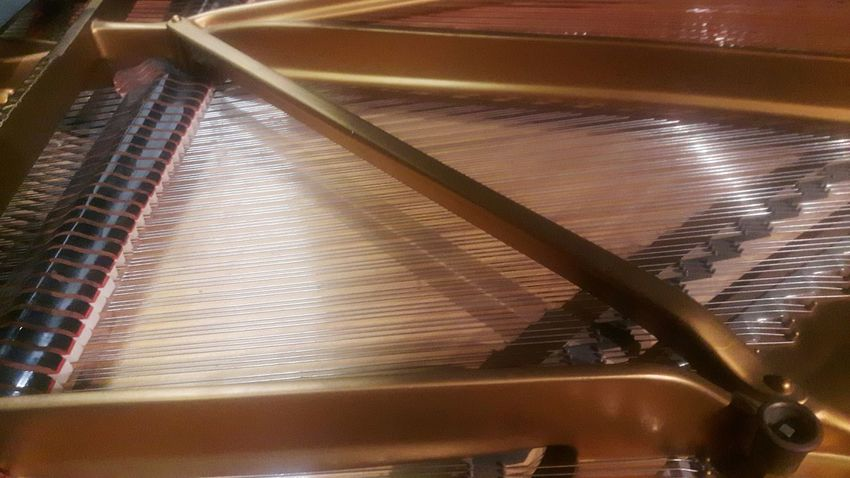 EyeEm Selects Indoors  No People Close-up Day Piano Insides Piano Interior Backgrounds Piano Strings
