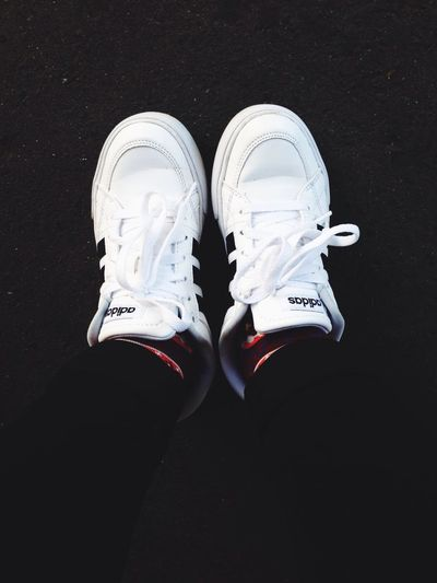 :) White Color Blackandwhite Adidasoriginals Adidas Shoes Of The Day Enjoy The New Normal