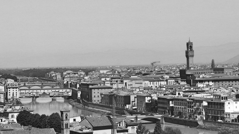 Architecture Black & White Black And White Building Exterior Built Structure Capital Cities  City City Life Cityscape Day Firenze Florence Florence Italy Italy No People Outdoors Residential Building Residential District Residential Structure Sky Toscana Toscana ıtaly Toskana Toskana,italy Travel Destinations