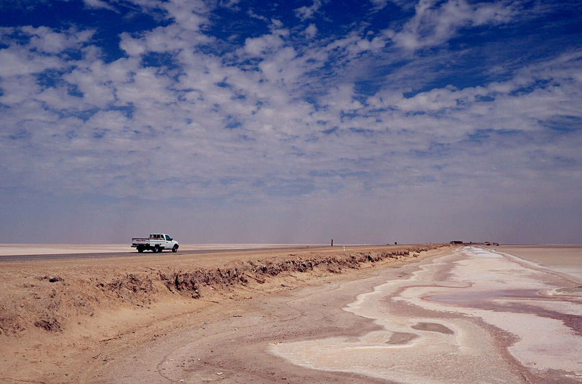 Salt Lake Chott El-Jerid Clouds And Sky Nature EyeEm Nature Lover Travelling Popular Photos Eye4photography  Taking Photos Tunisia