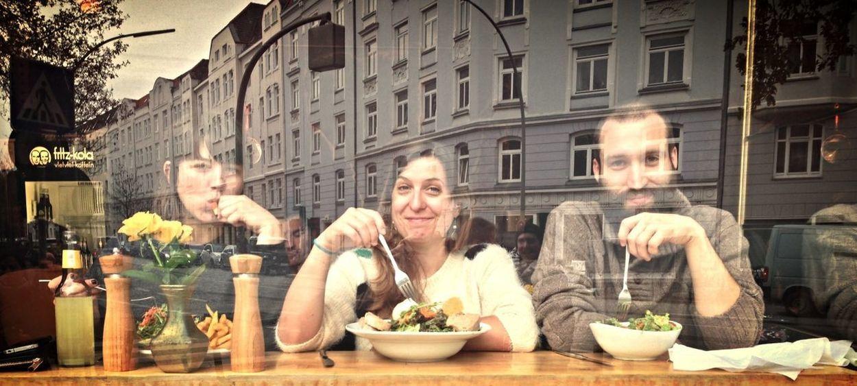 Tripple Lunchbreak at Hexenkessel in Bahrenfeld