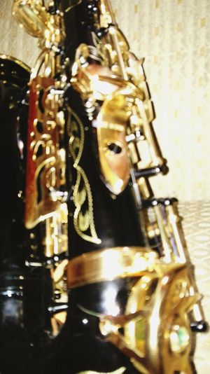 Musical Instruments Saxophone Gold Colored Jazz Saxofon Instrumento Musical Norteño Black And Gold Music Is Life Cover