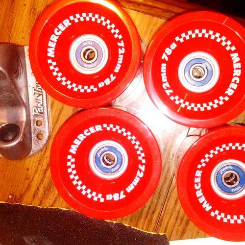 Skateboard Skate Wheels Andale Bearings Mercer Wheels Paris Trucks EyeEmNewHere
