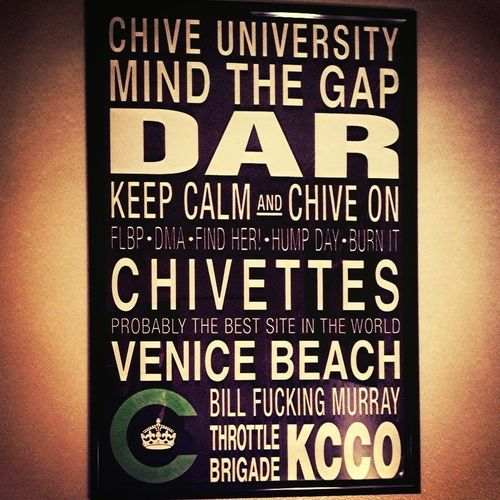Keep Calm And Chive On!