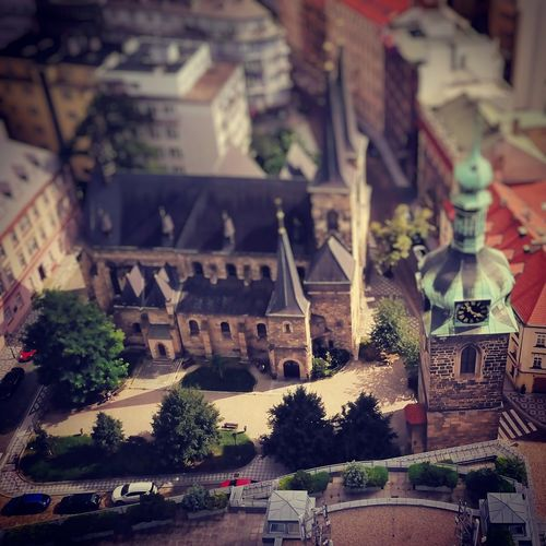 Miniature Prague Prague Prague♡ Prague Czech Republic Church Dronephotography Dji Multivisio Built Structure Architecture Building Exterior Tree Outdoors Day Travel Destinations No People City Lost In The Landscape