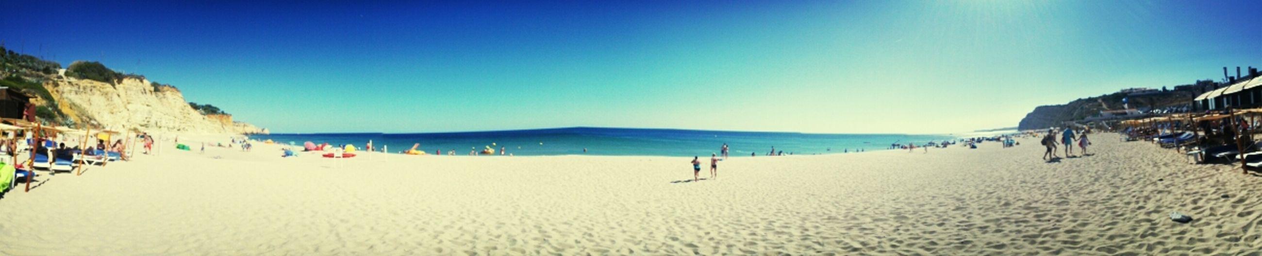 Relaxing Summer Beach Enjoying Life