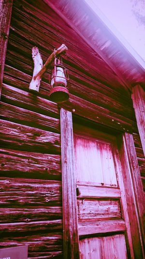 Architecture Built Structure Building Exterior Low Angle View Wood - Material Multi Colored House Old-fashioned Pink Color Shelf Cottage Day Vibrant Color Outdoors Group Of Objects No People Full Frame Red Skansen Outdoor Museum Skansen Stockholm Stockholm Tranquility Nature Solitude