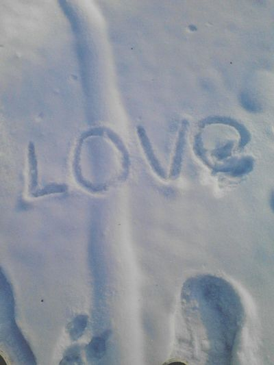 it's the only answer Text Western Script No People Capital Letter Communication Close-up Full Frame Cold Temperature Love Message Indoors  Writing Handwriting  Day Backgrounds Winter Positive Emotion Number Emotion Nature