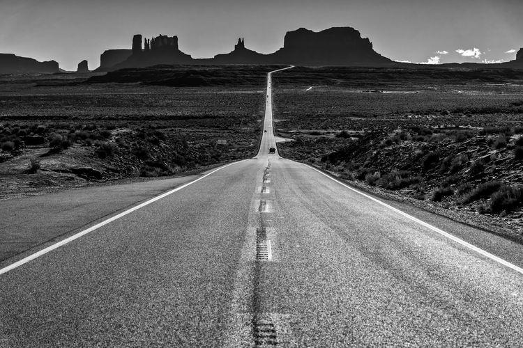 Road amidst landscape