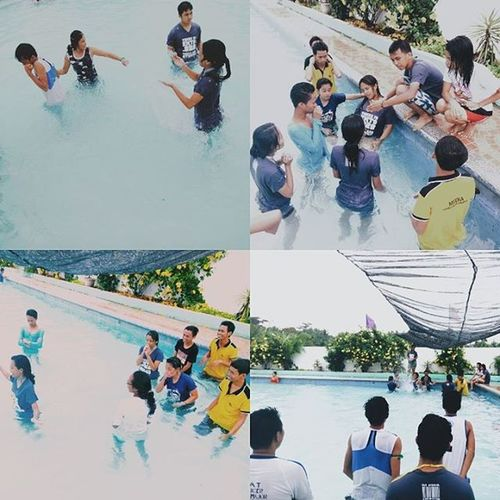 """Yesterday's """"EMTs.Org"""" Team Building was something! 😁 sa lahat po na nag attend, thank you for participating well in every activity! Sana may next time pa! Gusto ko man mafeel maging participant! Hooray for the success! 😁😂 Emt Teambuilding Vscocam"""