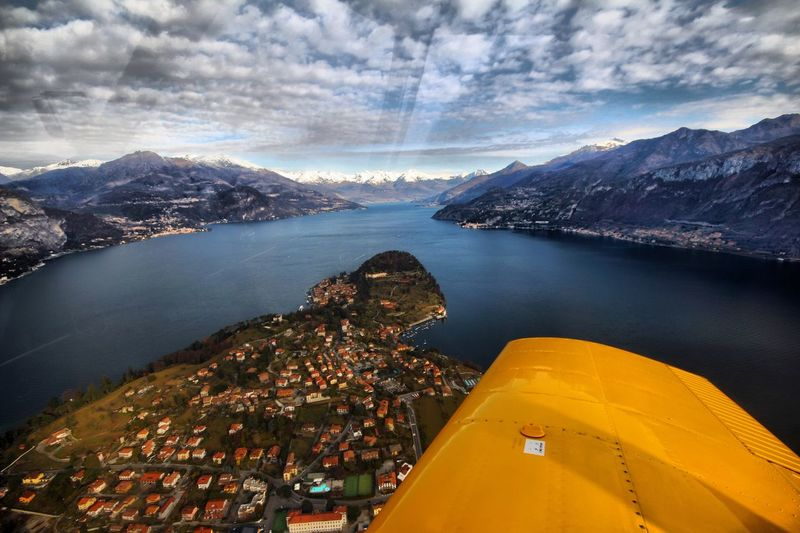 Ma devo mettere il telefono in modalità aereo ? Bellagio Mountain Scenics Nature Lake Sky Built Structure Day Architecture No People Beauty In Nature Water Outdoors Cityscape City