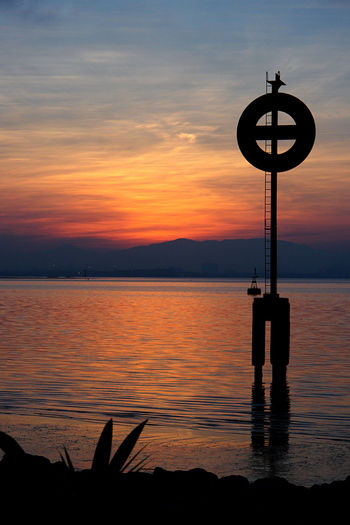 Penang Beauty In Nature Day Nature No People Outdoors Scenics Sea Silhouette Sky SonyR1 Sunset Tranquil Scene Tranquility Water