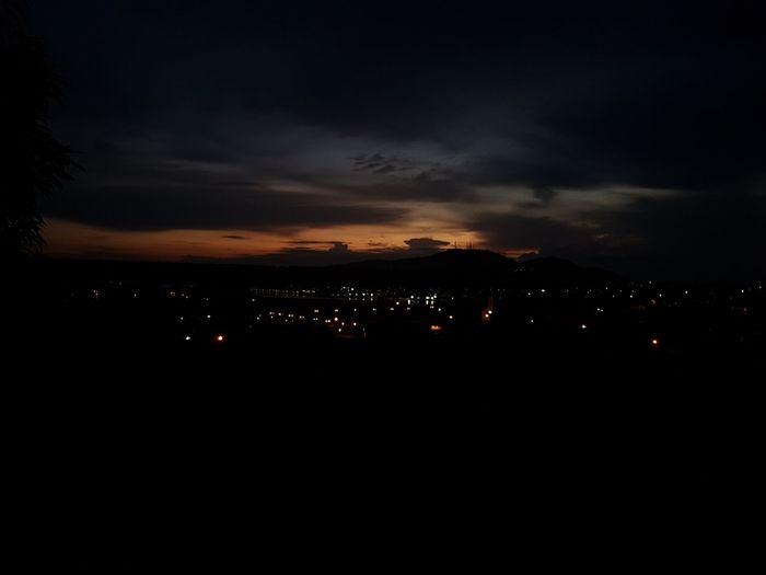 Amanhecer Sunset Silhouette Dramatic Sky Sky Cloud - Sky