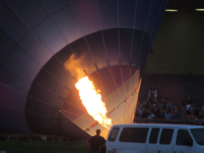Balloon Glow Burning Churchill Downs Crowd Day Flame Horse Race Horse Racing Horses Hot Air Balloon Kentcy Derby Festival Leisure Activity Men Outdoors People Real People Sport First Eyeem Photo