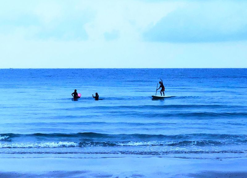 Sea Water Horizon Over Water Sky Real People Horizon Adventures In The City Beauty In Nature Leisure Activity Waterfront Scenics - Nature Nature Lifestyles Outdoors