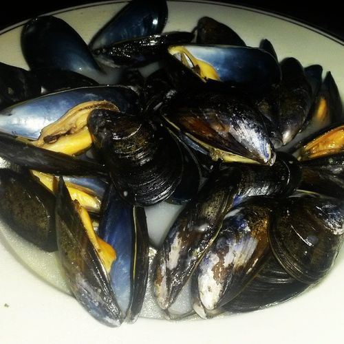 Dinner Scottishmussels Fishface ????