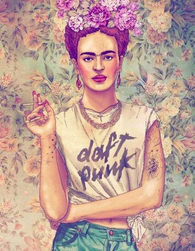 İ Frida Kahlo