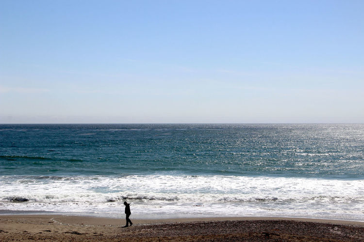 San Simeon, 2015 Beach Beauty In Nature Coastline Full Length Horizon Over Water Idyllic Men Nature Rear View Relaxation Remote Sand Scenics Sea Seascape Shore Solitude Standing Tourism Tourist Tranquil Scene Tranquility Vacations Water Wave