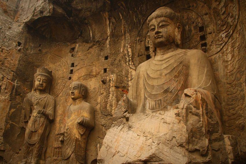 China Photos Luoyang,china Longmen Grotto Hometown
