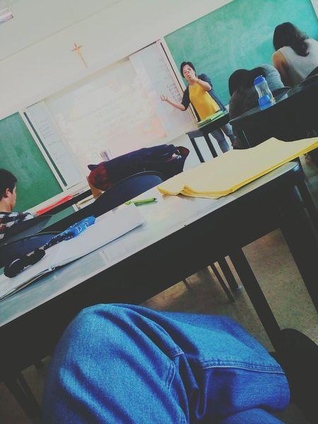 College Lecture Classroom Professor