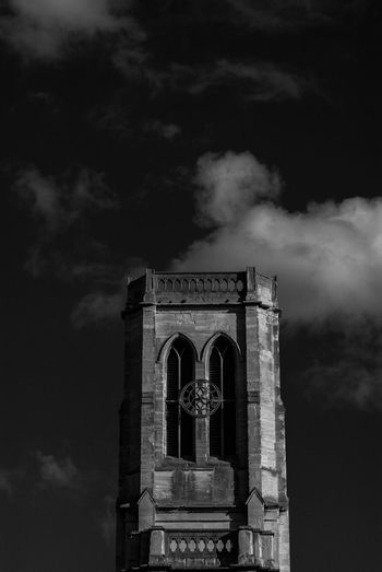 Church Architecture Built Structure Cloud - Sky Low Angle View Building Exterior Outdoors Religion No People Day Triumphal Arch Church Sky Dark