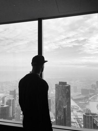 Architecture Built Structure Building Exterior City Sky Cityscape Window Day Men One Person