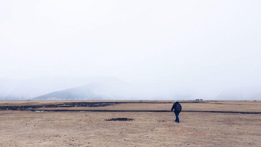 RePicture Travel Shangri-La Alone Friend Fog Cold Days Snow