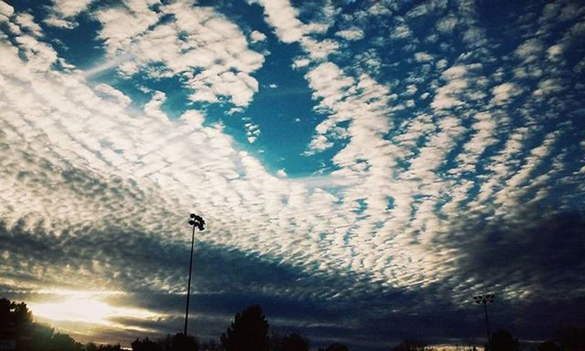 Fantastic sky out while I was practicing my freestyling ⚽ Sky Bluesky Clouds Amazing Fantastic Skies Sun Shining Sunshining Beautiful Colorful Colors Scenery View Views Evening Eveningsky Outside Outdoors Out Travel Traveler