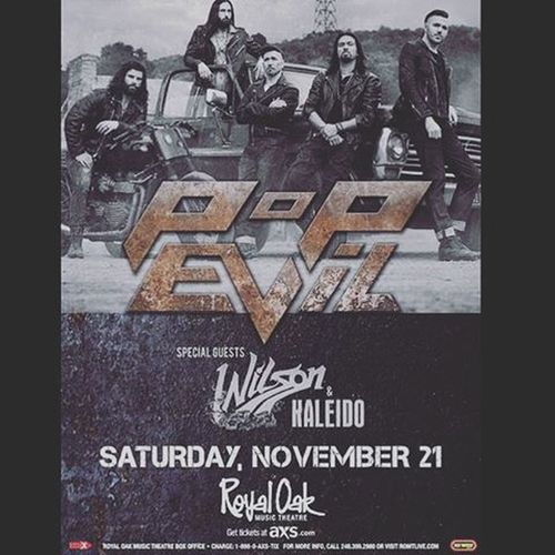 WHO HAS TICKETS YET??? I'm so exited for @kaleidoband Kaleidoband Kaleido Wilson  PopEvil Concert Fun Music Funtimes Royaloakmusictheatre Excited Excite  Excitement