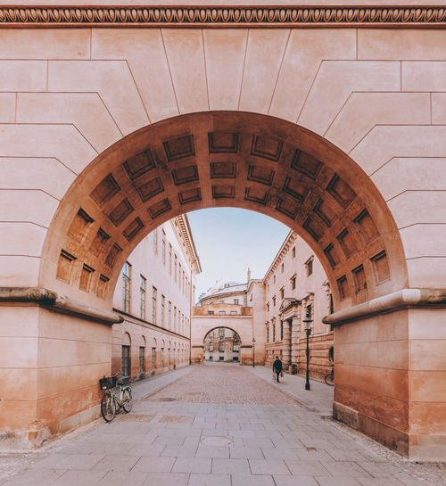 Enter Explore Travel Urban Cityscape Denmark City Copenhagen Arch Architecture Built Structure History Day Travel Destinations No People Outdoors Sky