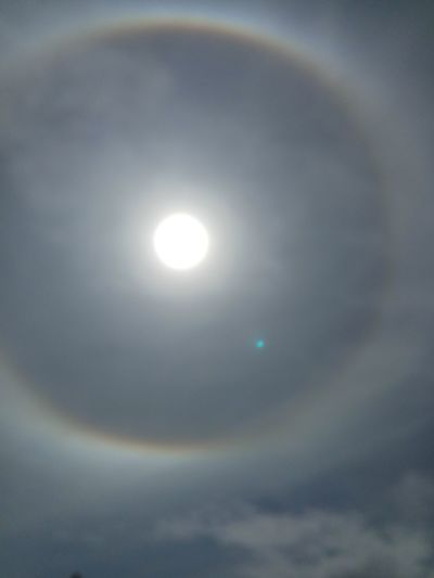 Astronomy Space Refraction Illuminated Solar Eclipse Sun Sky