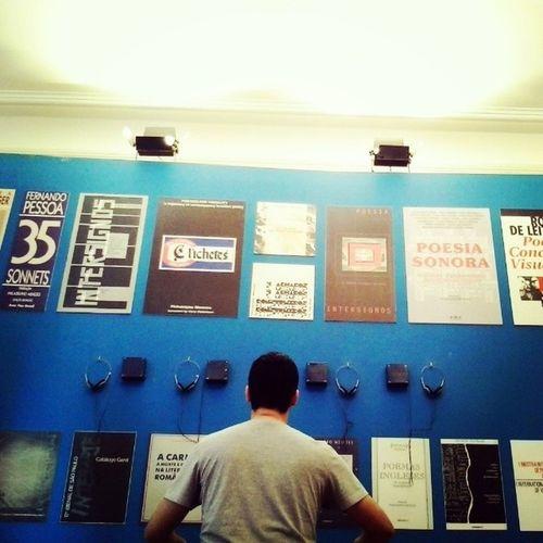 """Estilo @ipupo conferindo a exposição """"Do Repente ao Rap"""" na Casa das Rosas Sampa SP Brasil Paulista Culturas"""