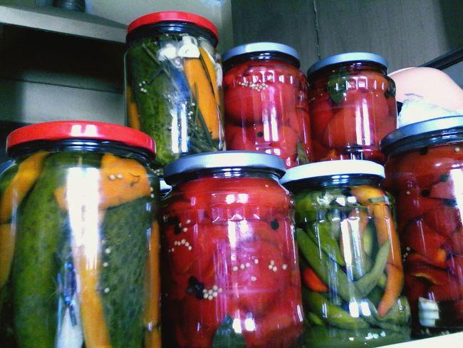 Learn & Shoot: Leading Lines Colorful Picklejars Pickles Jars  Vintage2 Wolfzuachis Eyeem Market This Week On Eyeem