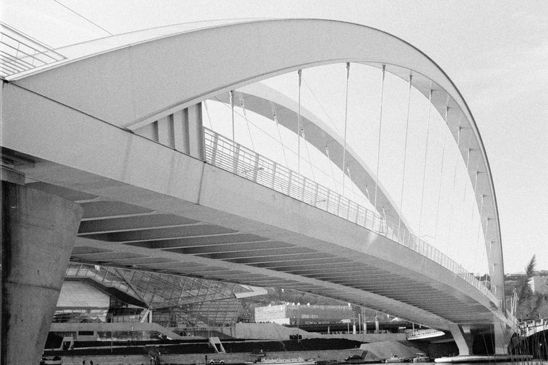 The bridge Film Photography Blackandwhite Bridge Architecture Built Structure Day Transportation No People Indoors  Sunlight The Architect - 2018 EyeEm Awards