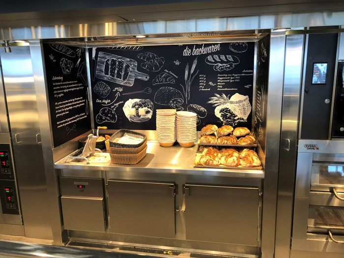 Ankelmannsplatz Neue Mein Schiff 1 Appliance Baked Baked Pastry Item Bakery Business Choice Dessert Display Cabinet Food And Drink French Food Freshness Illuminated Indoors  Indulgence No People Oven Ready-to-eat Snack Still Life Sweet Sweet Food Temptation Text