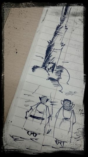 Lordoftherings Monochrome Boring Class Doodling