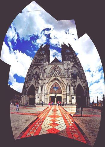 Church Quito Ecuador Memories