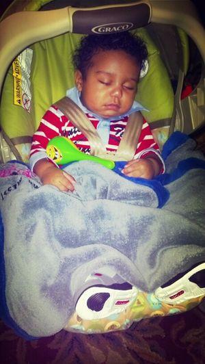 #SleepyBaby...Don't Feel Good After 5 Shots