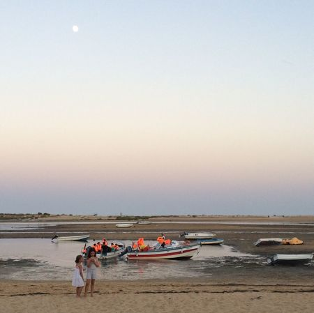 CacelaVelha Sunset Ria Formosa Water Sand Noon