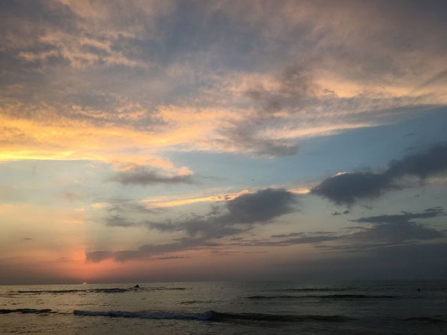 Nature Sunset Beauty In Nature Beach Sky Sea Scenics Nature Horizon Over Water Cloud - Sky Wave Lovely Iran Nature Iran Shadow The Week On EyeEm Lost In The Landscape