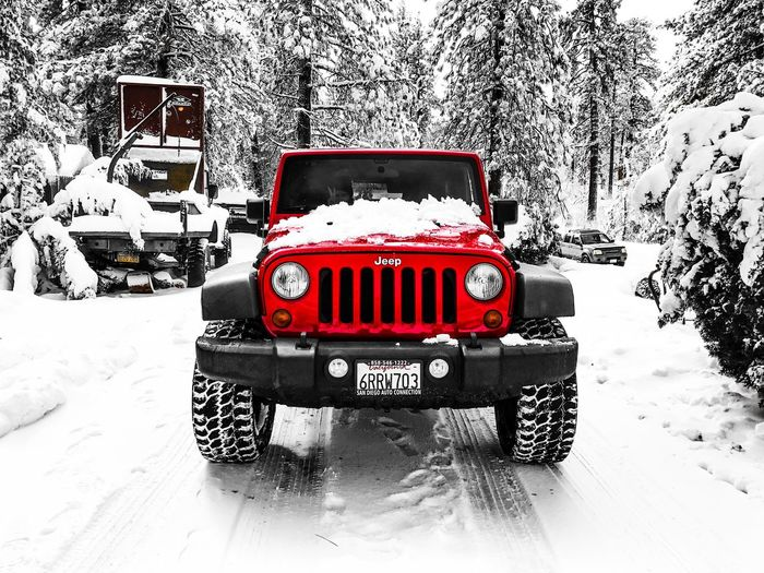 Jeep Jeep Life Car Transportation Red No People Fire Engine Day Outdoors Jeep Wrangler JK Snow ❄ Snow Covered Jeep Wrangler  Jeeplife Jeep Cruisin Photography Photooftheday Photographer Beauty In Nature Landscape Scenics Travel Destinations Sexycars