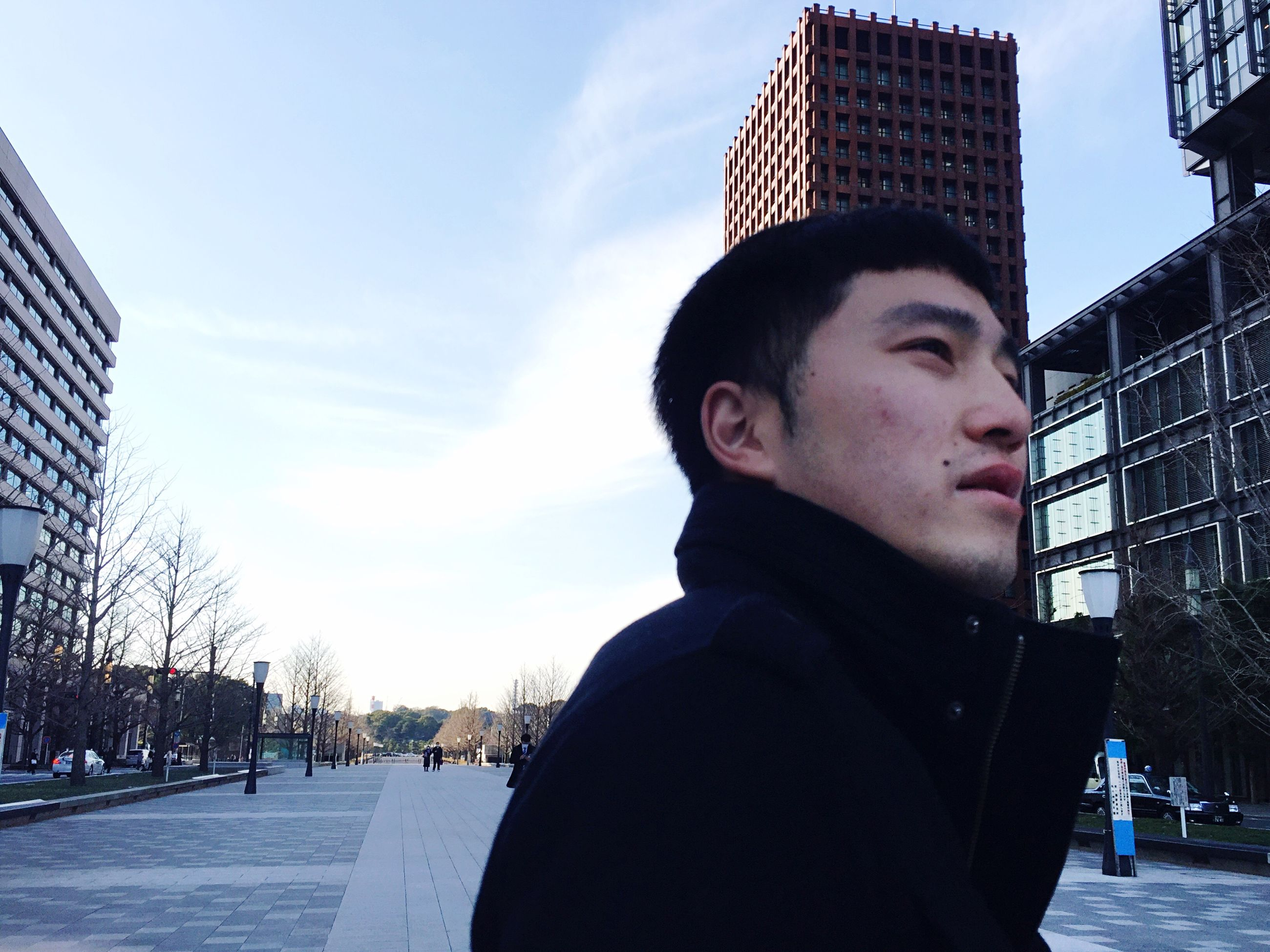 young adult, outdoors, city, real people, sky, one person, portrait, only men, day, men, close-up, architecture, one man only, adults only, people, adult