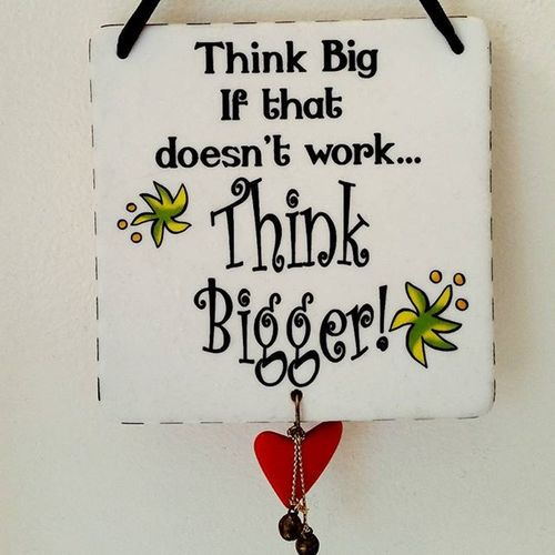 My morning routine includes seeing this: Think Bigger! Need help in thinking big let Medileaftech handle it and show you the way. We won't share till you become Successful . Life NOstress Lifesgood
