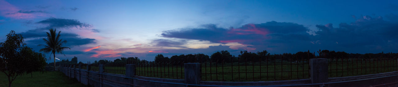 Cloudy Panorama, Vibrant Pink Sunset Beauty In Nature Check This Out Cloud - Sky Dramatic Sky EyeEm EyeEm Best Shots EyeEm Gallery EyeEm Nature Lover First Eyeem Photo Landscape Memories Nature Outdoors Panorama Panoramic Perspective Philippines Rural Scene Scenics Silhouette Sky Still Life Sunset Tranquil Scene Tree The Great Outdoors - 2017 EyeEm Awards The Photojournalist - 2017 EyeEm Awards