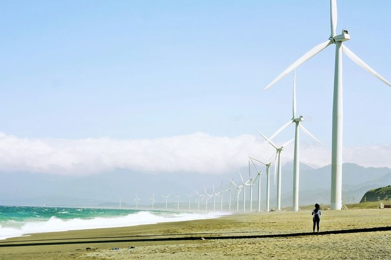 Bangui Wind Farm, Ilocos Norte, Philippines 2015 ~ The Great Outdoors - 2015 EyeEm Awards Travel Traveling Adventure On The Road Starting A Trip People Landscape Potrait Of A Friend Nature On Your Doorstep Adventure Buddies