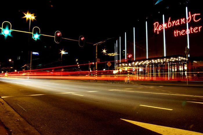 Urbanphotography Into The Night Nightphotography Night Lights Slow Shutter Arnhem My City City Life City Lights
