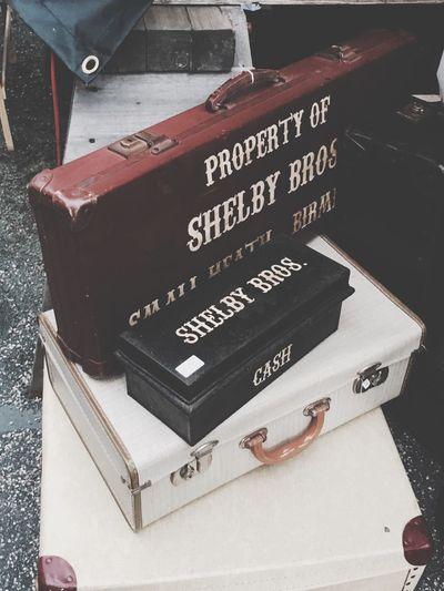 Cillian Murphy Outdoors Peaky Blinders Luggage