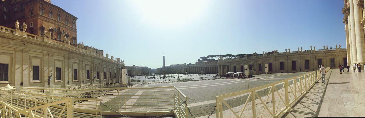 Piazza del Vaticano Architecture Rome Vatican Tourism Carte Postale Vaccances Chretien