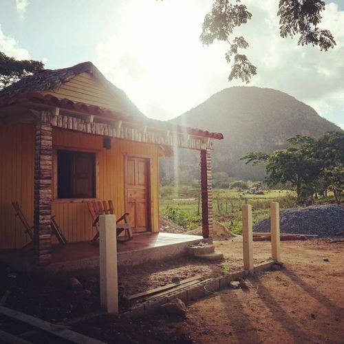 Mountain House Sunbeams Viñales Pinar Del Rio Cuba Wanderlust Travel Photography Travel Destinations EyeEm