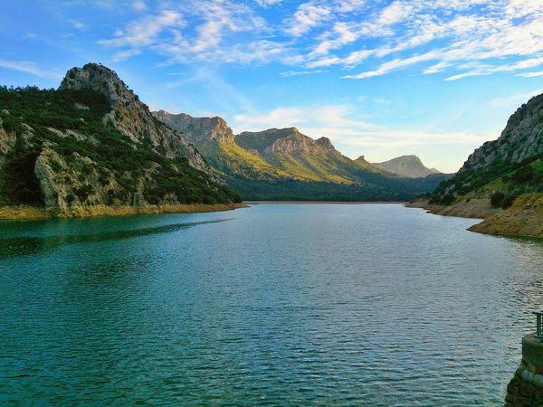 Gorg Blau Gorg Blau Lake Mallorca Mountains Scenics Sky Tranquil Scene Water